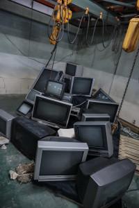 廃墟テレビブース